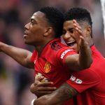 Antony Martial Marcus Rashford Manchester United
