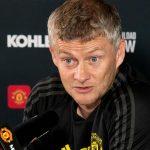 Ole Gunnar Solskjaer Manchester United konferencja prasowa
